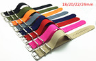 1pcs 18 20 22 24mm Multiple Colors Nato Nylon Military Watch Strap Army Sport Watchband