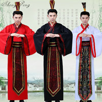 2018 new men Chinese Cotton buddhist monk robes dance costumes hanfu costume han dynasty man clothes ancient clothing CC315