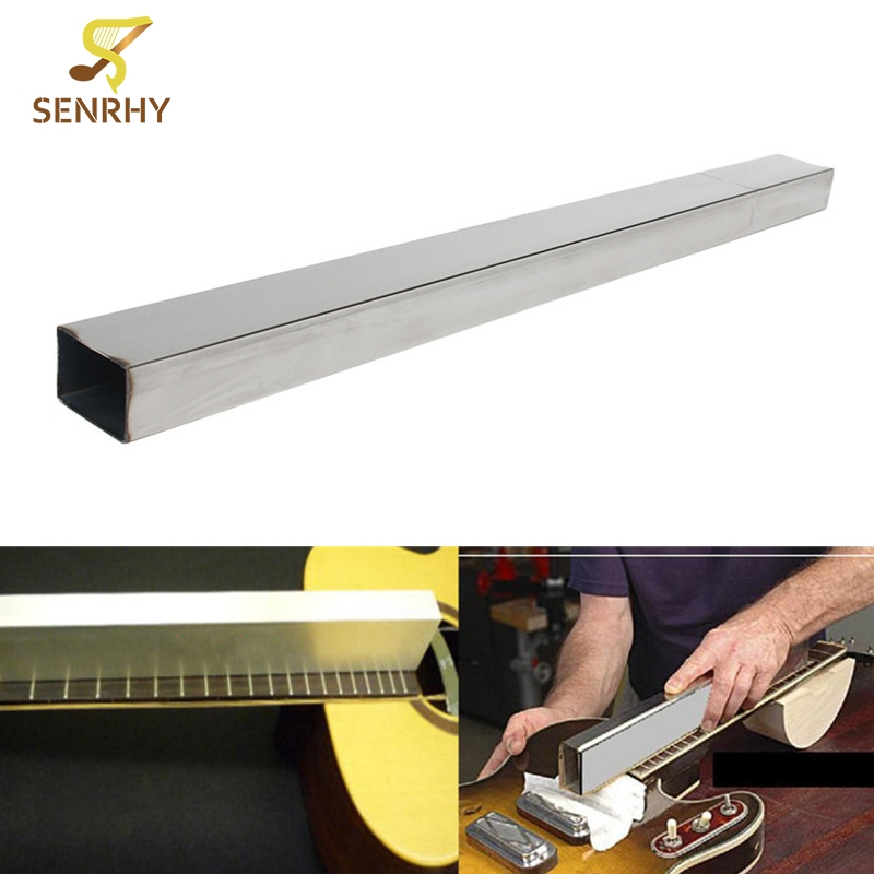 Guitar Accessories 19 fret 48cm Guitar Leveling Beam Guitarra Bass File Luthier Tool For Musical Stringed Instruments Parts thyssen parts leveling sensor yg 39g1k door zone switch leveling photoelectric sensors
