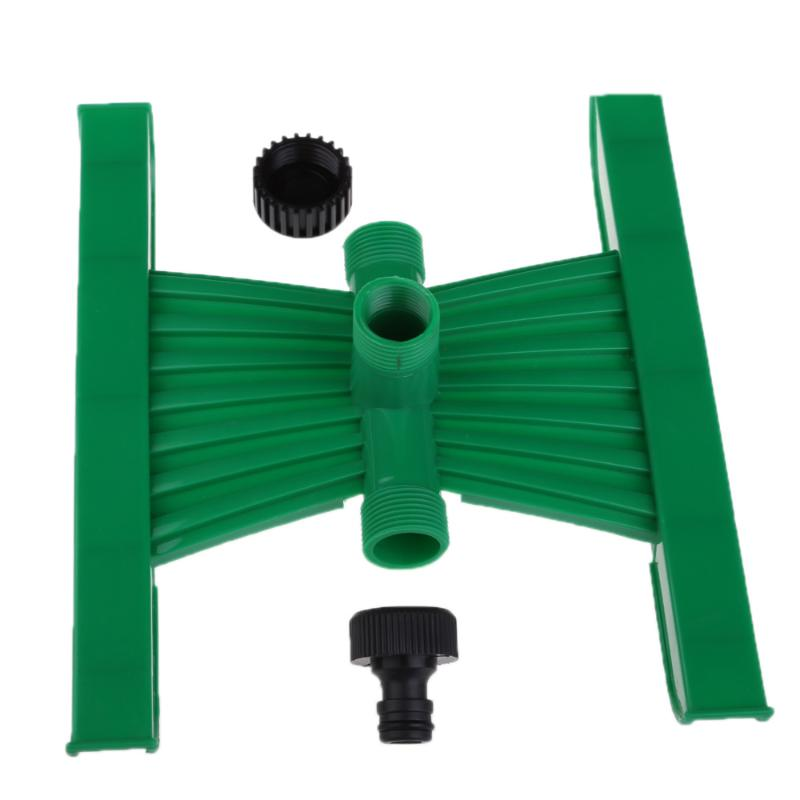 Supply Rotating H-shape Base Plant Watering Plastic Sprinkler Garden Irrigation Vortex Sprinklers Portable 3/4 Plastic Sprayer E5m1 Home & Garden Garden Sprinklers