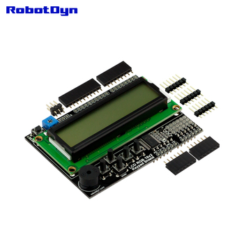 ЖК RGB 16х2 + клавиатура + звуковой экран для Arduino, ЖК RGB 1602