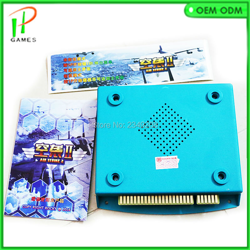 New Arrival Jamma arcade game PCB board AIR ATTACK 2 King of Air Updated version 56