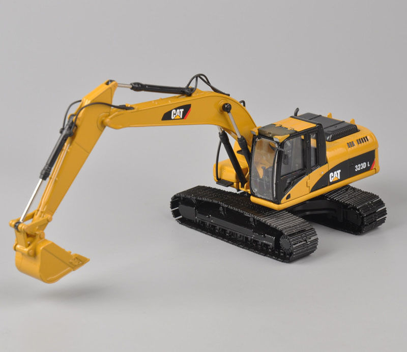 Rare Norscot 1:50 Scale Caterpillar Cat 323D L Toy Hydraulic Excavator Engineering Machinery 55215 Diecast Model For Collection