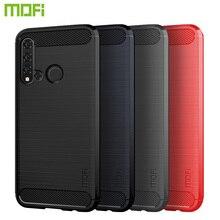 MOFi For Huawei Nova 5i Case Cover Luxury Soft Fiber TPU Silicone Phone Cases Back