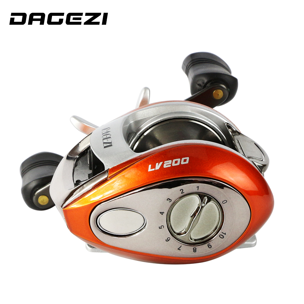 GAGEZI 12+1BB Ball Bearings Left/right Handle Bait Casting Carp Fishing Reel High Speed Baitcasting Pesca water drop wheel