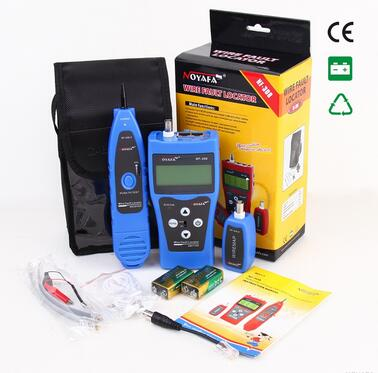 Free Shipping, Free Shipping Noyafa NF-308 Multipurpose Network LAN Telephone Cable Length Tester 5E 6E cable coaxial RJ45 cable length tester free shipping noyafa nf8108 network cable tester meter length 1 remote units cat5e 6e utp stp cat5 rj45
