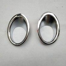 For Nissan qashqai j10 dualis 2013 2012 2011 2010 2008 2 1.6 chrome Front fog light trim cover accessories стоимость