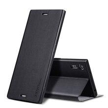 X уровня бизнес-style телефон Case для Sony Xperia Z Ultra XL39H Brand Luxury кожаный Flip Case чехол