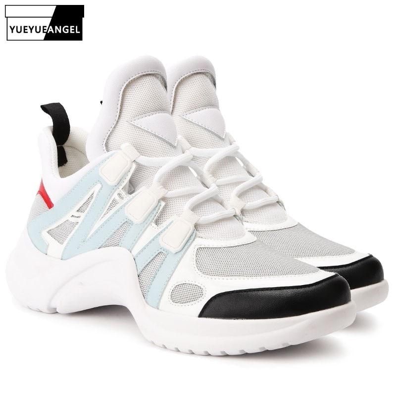 Women Designer Platform Sneakers Jogger