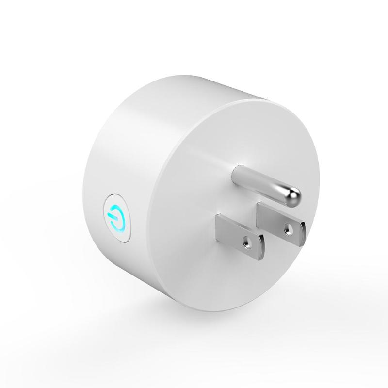 WiFi Smart Socket AC 110-240V US Plug Support Amazon Alexa Voice APP Control Timing Function for iOS Android Smartphone Tablet ac 110v 220v wifi smart outlet power socket app wireless remote control timer switch support amazon alexa voice control us plug