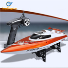 LeadingStar Fashionable Elegant High Speed Racing Boat Toy Electronic Remote Control Sailing Toy for Christmas Halloween Gift
