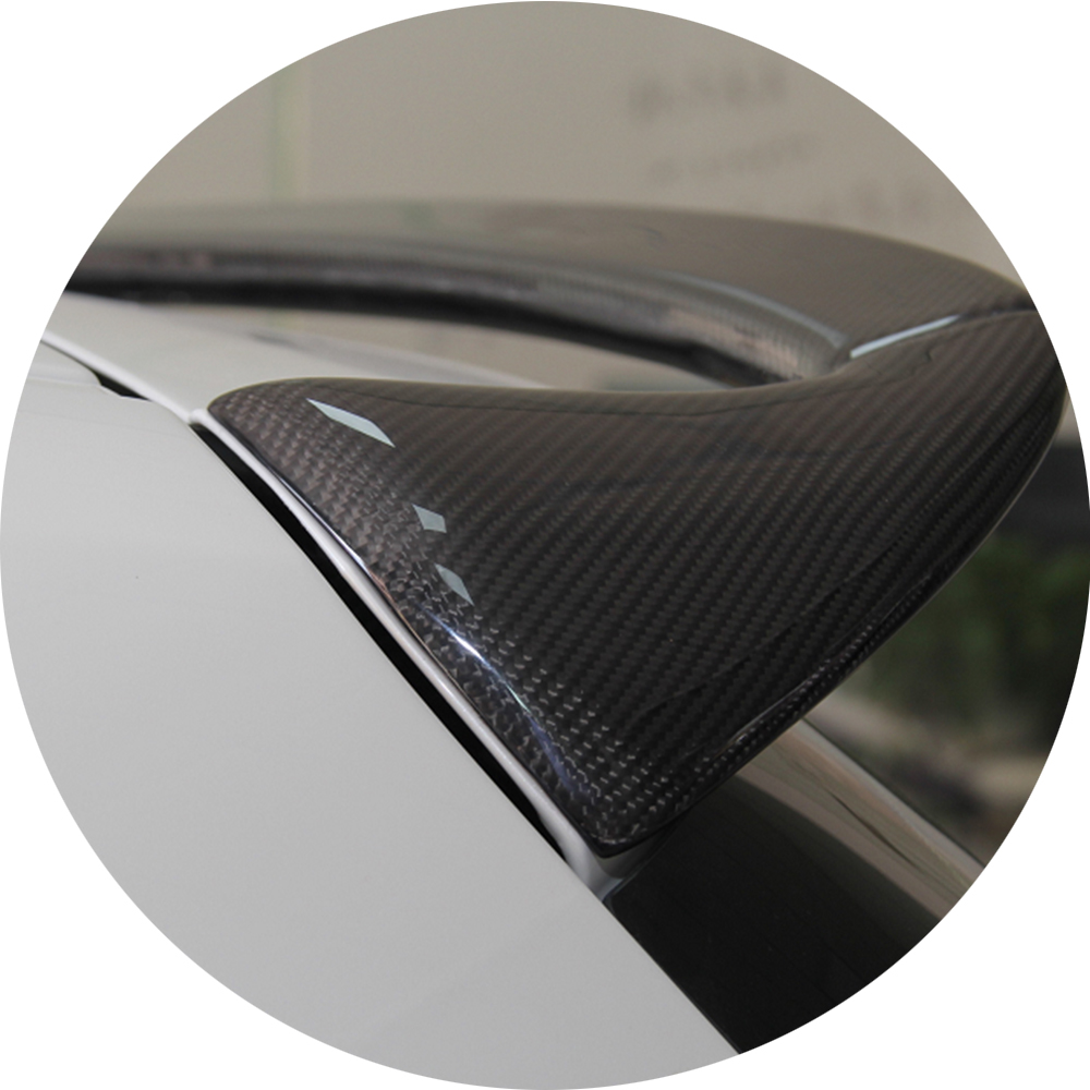 For BMW F20 Spoiler AC Style BMW 1 series F20 F21 Carbon Fiber Rear Roof Spoiler  116i 120i 118i M135i 2014 2015 2016 2017 car accessories frp fiber glass origin lab style roof spoiler fit for 1992 1997 rx7 fd3s rear roof wing