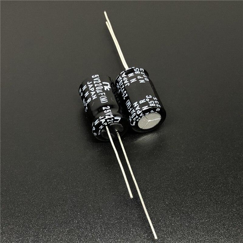 CZ 8X11.5mm Wide Range Temperature Capacitor SANYO 20pcs 25V 330UF 25V SUNCON