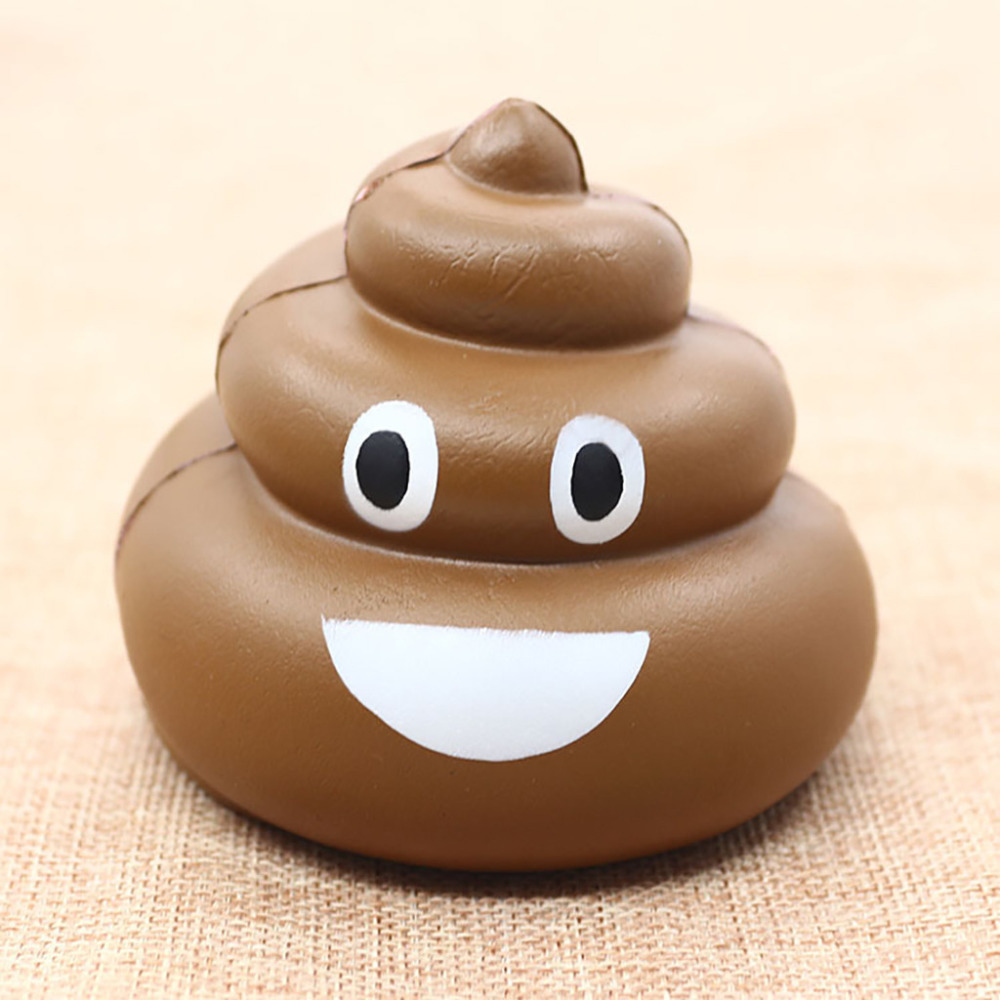 Funny Crazy Smiling Squishies Squishy Poo Squeeze Slow Rising Kids Adults Anti-stress Toys Squibs Squishi Animaux Dropshipping 2