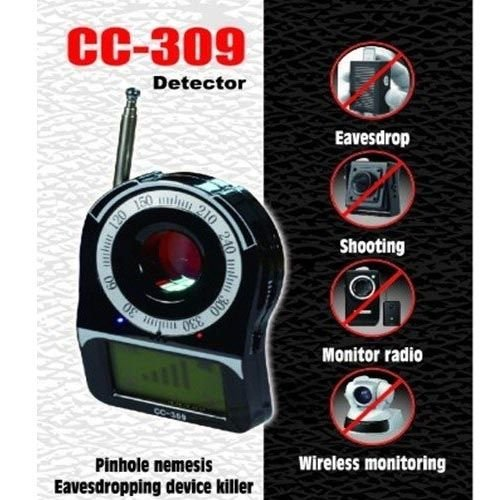CC309 Wireless Signal Full Band Detector Hidden Camera Bug Finder Anti Spy Detector Anti Candid Camera Detector