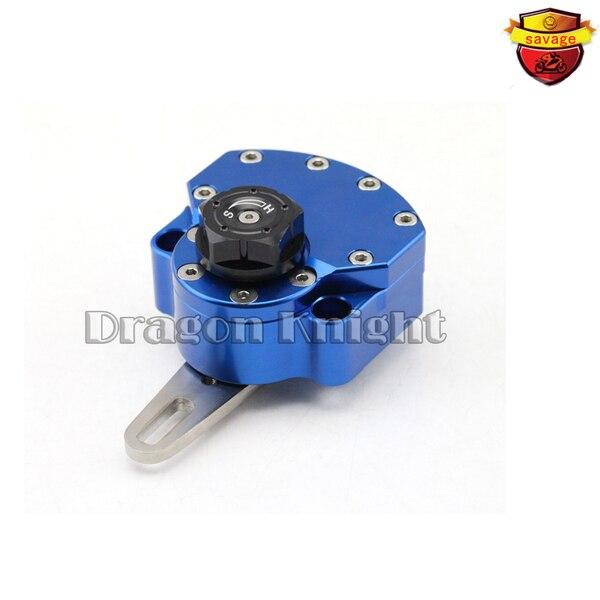 Motorcycle Accessories Stabilizer Steering Damper Blue