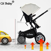 Chbaby baby stroller folding suspension one handcars buggy