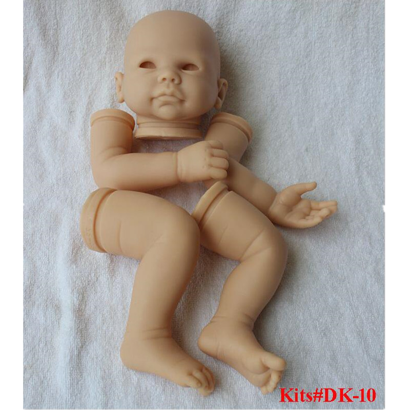 Reborn Doll Kits for 20inches Soft Vinyl Reborn Baby Dolls Accessories for DIY Realistic Toys for DIY Reborn Dolls Kits dk-10 reborn doll kits for 20inches soft vinyl reborn baby dolls accessories for diy realistic toys for diy reborn dolls kits dk 89