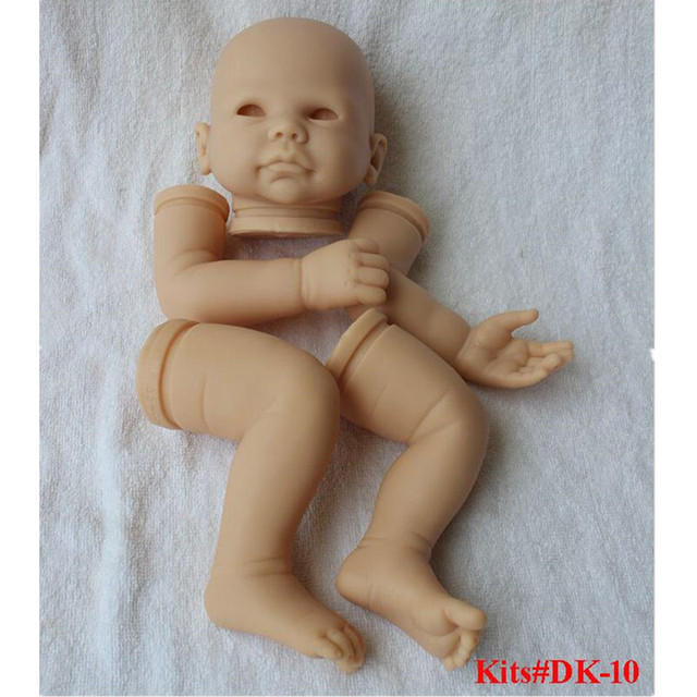 Reborn Doll Kits for 21inches Soft Vinyl Reborn Baby Dolls Accessories for DIY Realistic Toys for DIY Reborn Dolls Kits dk-10