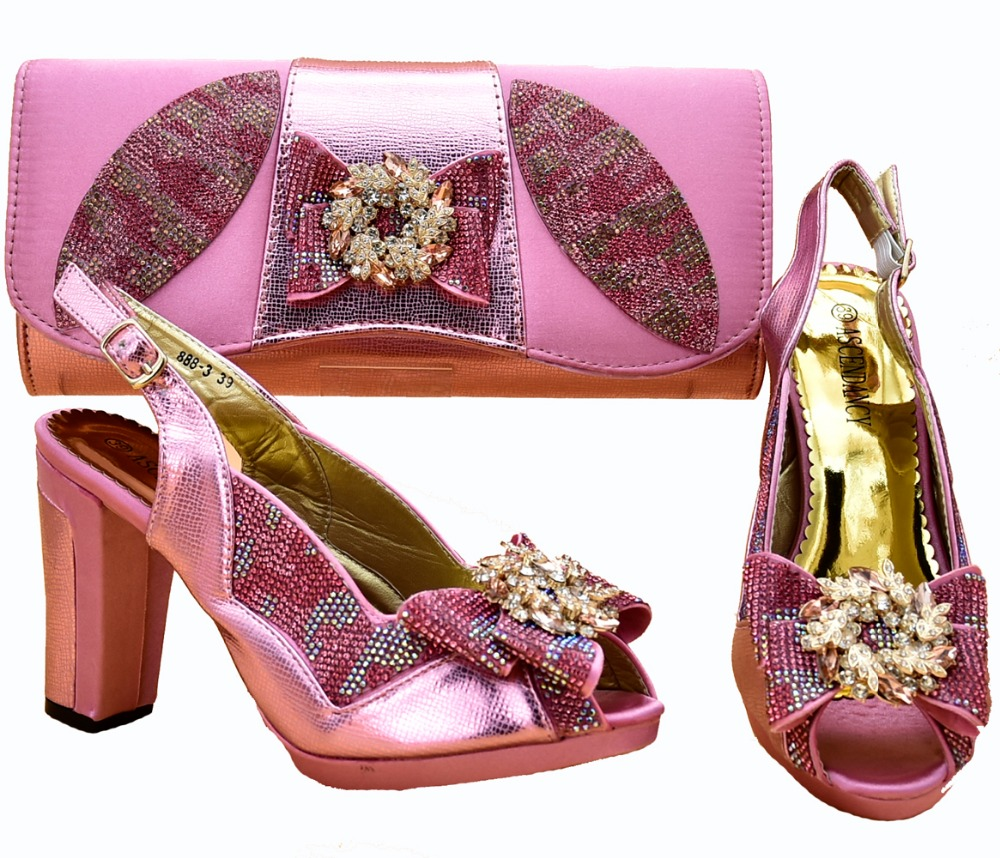 Baby pink sandal shoes and clutches bag matching set new italian shoes and bag for african aso ebi size 37 to 43 SB8264-2Baby pink sandal shoes and clutches bag matching set new italian shoes and bag for african aso ebi size 37 to 43 SB8264-2