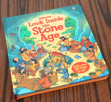 Look Inside Stone Age Flap Book