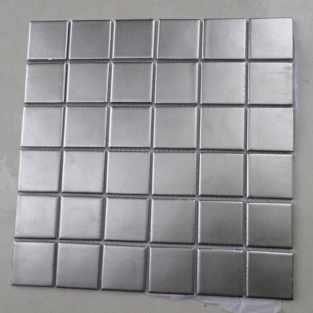 Nuovo stile quadrato piastrelle di mosaico in ceramica backsplash ...