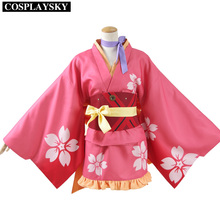 Kabaneri Del Hierro Fortaleza Mumei Kimono Cosplay