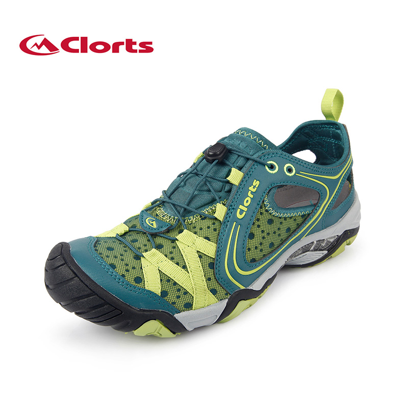 Clorts Mens Water Shoes Quick-Drying Summer Wading Shoes PU Mesh Upstream Shoes 3H023A/C все цены
