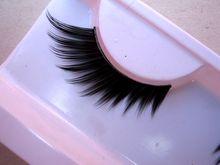 1 pairs 11 sharp end of eye liner lengthen thick customized short children apply eyelash MJ11