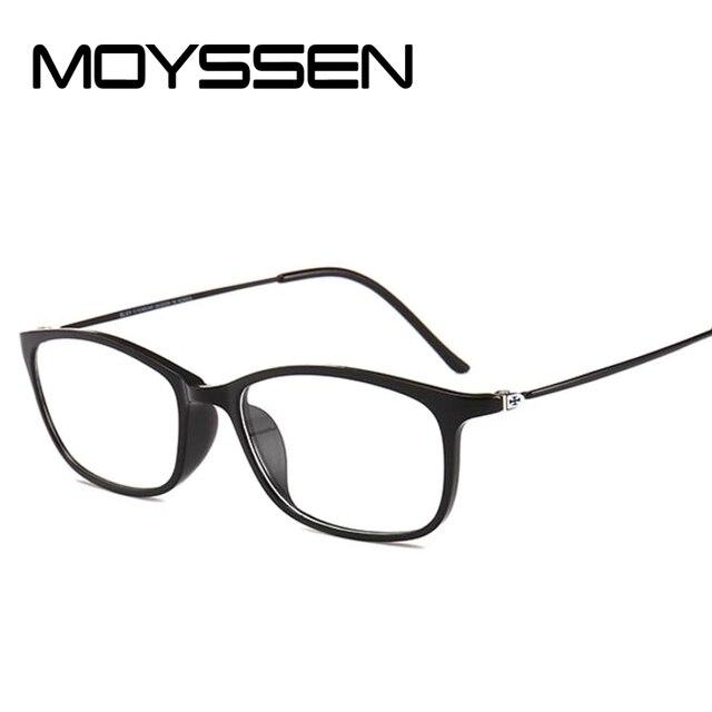 a5079b8a998 MOYSSEN Ultra-thin Korean Men Vintage BLSY Titanium Tungsten Small Square Glasses  Frame Women Myopia Prescription Eyeglasses