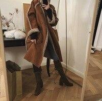 Reversible Hight Quality Hot Sale Fashion Sexy Women Warm faux Fur Coat Lamb Fur Holiday Body Con Celebrity Coats Wholesale