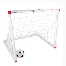 Large 90cm DIY Youth Sports Soccer Goal Football/Soccer Ball Pump Practice Scrimmage Game Home Soccer Sports for Kids Children