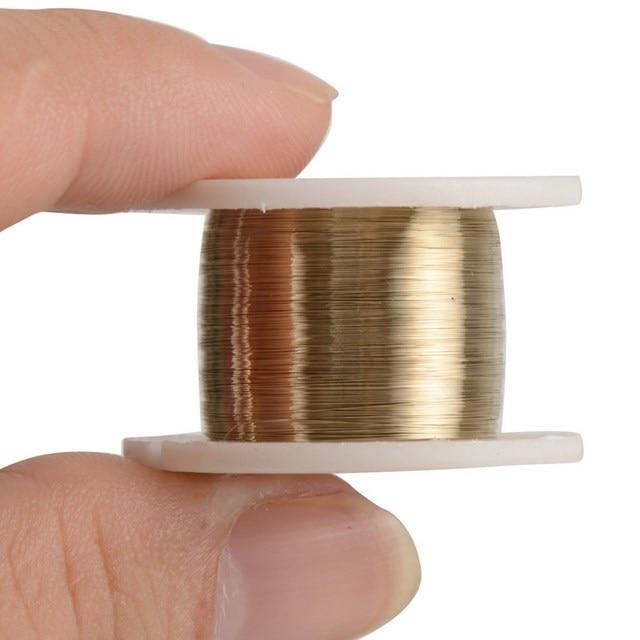 1 volumen de 100 m 0,08mm de aleación de alambre de corte alambre de molibdeno de Kit de herramientas para teléfono celular P25