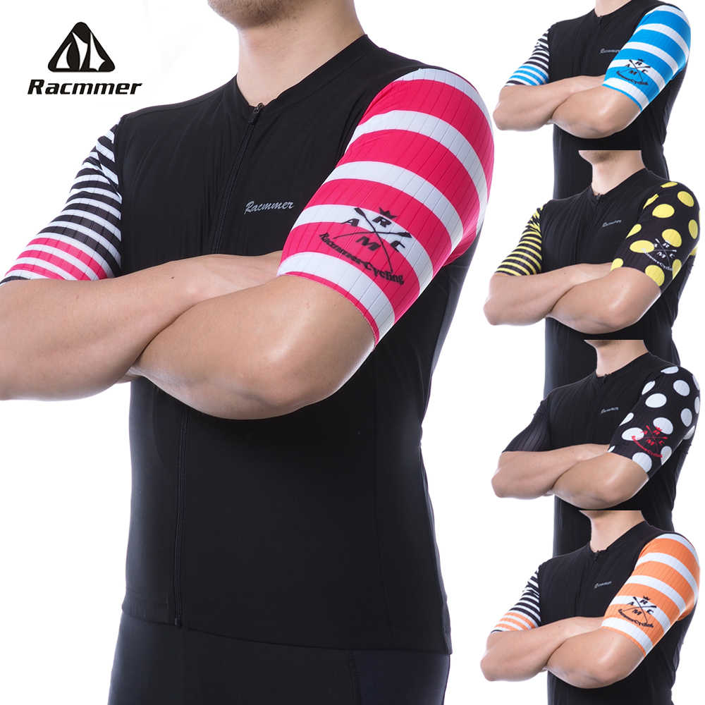 2019 Racmmer Mens Cycling Jersey PRO AERO Short Sleeve Maillot Ciclismo Hombre Mtb Bike Bicycle Jersey Shirt Black Jersey