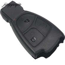 jingyuqin 3 Buttons Remote Car Key Fob Case For Mercedes Benz B C E ML S CLK CL Vito 639 3BT Rreplacement Shell