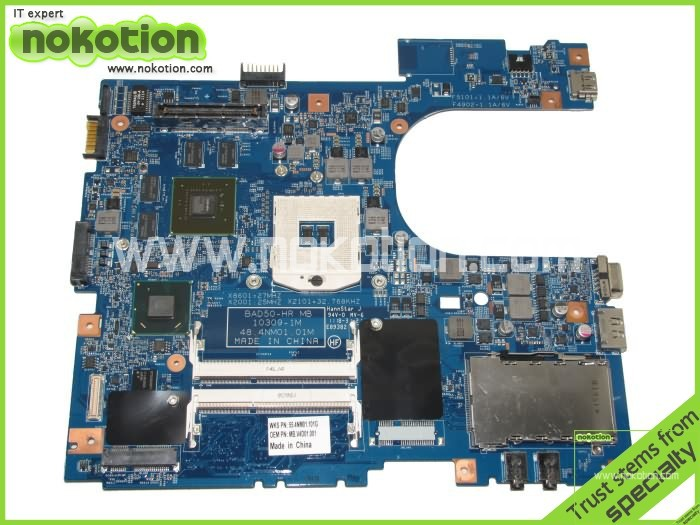 MB.V4D01.001 MBV4D01001 48.4NM01.01M latop motherboard for acer aspire 6593 Intel HM65 with graphics card 55.4NM01.101G