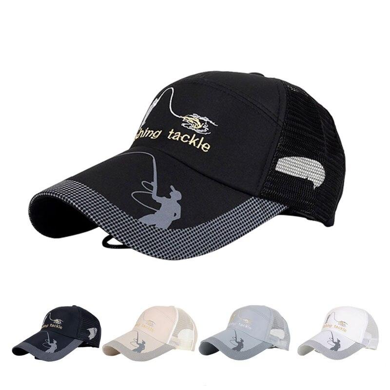 Unisex Men Women Adjustable grey Cap Snapback Golf Sports Hat Sun Visor