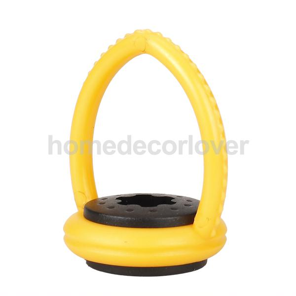 1Pcs Plastic Yellow Snooker Pool Cue Billiards Club Hanger Table Accessory