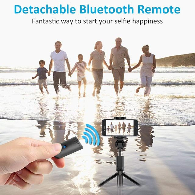 Bluetooth Selfie Stick Alloy Tripod