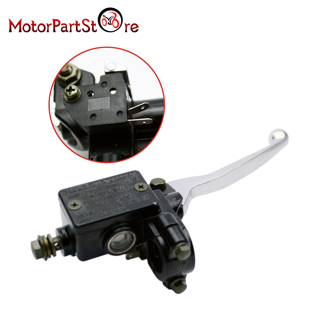7  8 U0026 39  U0026 39  22mm Atv Alloy Front Brake Master Cylinder Handle