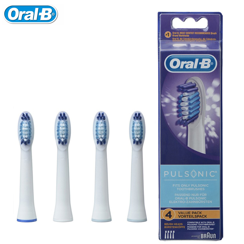 Braun Oral B TriZone Replacement Tooth Brush 4 Heads Genuine New