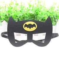 Batman mask Cosplay Superman Superhero Avengers Thor IronMan Princess Halloween Christmas kids Party Masquerade Costumes Masks