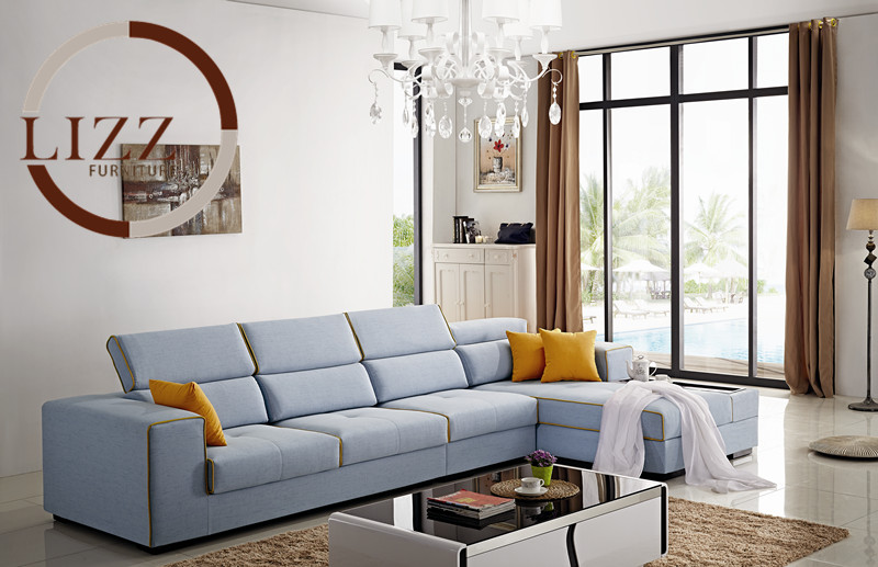 Chaise Bean Bag Chair Sofa For Living Room European Style Set Modern Fabric Hot Sale Low Price Factory Direct Sell Fabri Sofas private villa living room chair retail