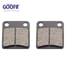 GOOFIT Brake Pads for Dirt Quad ATV Pocket Mini Bike Go Kart Buggy 50cc 70cc 90cc 110cc 125cc 150cc 200cc 250cc C029-019 goofit electric starter 50cc 70cc 110cc 125cc atv quad dirt bikes go karts 3 bolt top k084 003