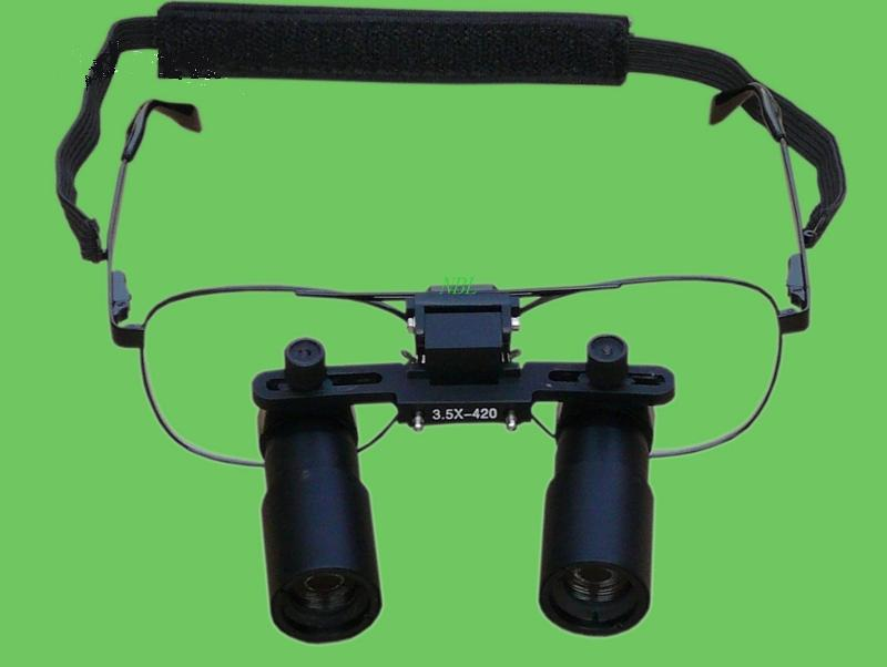 3.5X Professional ENT Operation Surgical Loupes Microsurgery Dental Binocular Kepler Magnifier Loupe Glasses High Definition