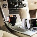 Sem fio bluetooth transmissor fm radio speaker adapter com dual usb carregador de alto-falantes bluetooth sem fio handsfree display led