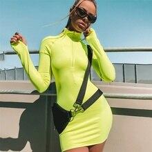 Спортивные платья для женщин, облегающее эластичное платье с высоким воротом, сексуальное женское облегающее платье для бега, спортивная одежда, платье для тенниса и танцев