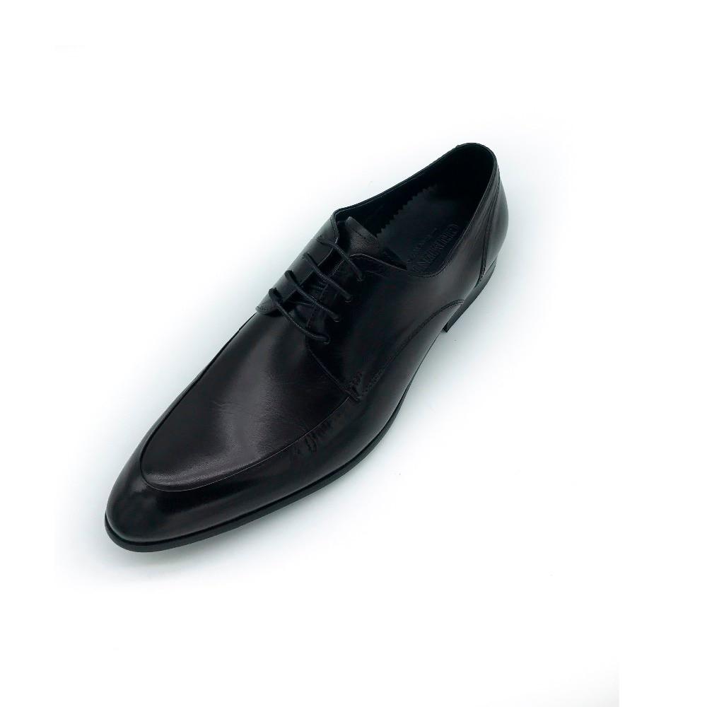 Hombres De Marrón Encaje Para Nuevo Negocios Negro Vestir Lujo Grimentin brown Más Los Moda Black Zapatos 2019 Diseñador nB4AxUI