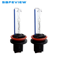 2 Pcs Single Xenon Car Headlights 35W H8 8000K Hid Bulbs For Auto Lamp Light 12V Replace Auto Parts High Quality Light(China)