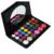 Nueva mujeres Pro maquillaje cosmético 30 brillante colores incluyen 24 3 sombra de ojos corrector 3 Flush maquillaje con espejo garantía de calidad